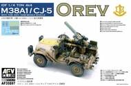 AFV Club  1/35 Orev IDF 1/4-Ton 4x4 M38A1/CJ05 Anti-Tank Missile Vehicle - Pre-Order Item AFV35S97