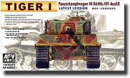 AFV Club  1/48 Sd.Kfz.181 Tiger Ausf. E Latest Version AFV48001