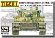AFV Club  1/48 Tiger I Panzerkampfwagen VI Sd.Kfz.181 Early Version AFV48002