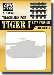 """AFV Club  1/48 Tiger I """"Late Version"""" Tracks AFV48003"""