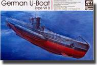 AFV Club  1/350 German U-Boat Type VII B Submarine AFV73502
