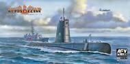 AFV Club  1/350 USN Guppy II Class Submarine AFV73513