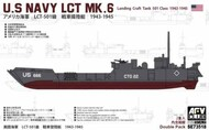 AFV Club  1/35 WWII USN Landing Craft Tank Mk 6 501 Class (2 Kits) (New Tool) - Pre-Order Item AFV73518