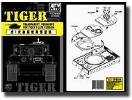 AFV Club  1/35 Transparent Periscope for Tiger I Late Version AFVAC35004