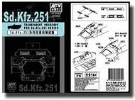 AFV Club  1/35 Transparent Periscope for Sd.Kfz 251 Series AFVAC35005