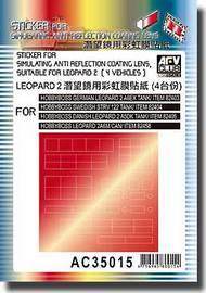 AFV Club  1/35 Sticker for simulating anit reflection coating lens AFVAC35015