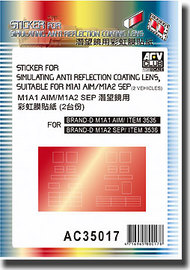 Sticker for Simulating Anti-Reflection Coating  #AFVAC35017