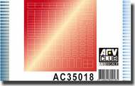 AFV Club  1/32 Sticker for Simulating Anti-Reflection Lens, SUitable For LAV-25 Family AFVAC35018