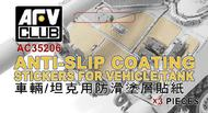 AFV Club   N/A Anti-Slip Coating Stickers for Vehicle & Tank AFVAC35206