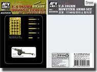 AFV Club  1/35 US 105mm Howitzer Ammo Set (BRASS) AFVAG35030