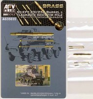 AFV Club  1/35 Sd.Kfz.231/232 Barrel & Clearance Indicator P AFVAG35035