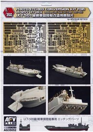 AFV Club  1/35 Photo-Etched Conversion Set for US Navy LCT Mk.6 AFVAG35052
