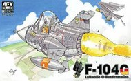 AFV Club   N/A F-104 Q-Series (Version West Germany) - Egg Plane AFVQS06