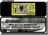 AFV Club  1/35 WWII German Sd.Kfz.11 3T Half Track Etching - New AFVTH35005