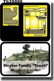 AFV Club  1/35 Stryker Family Etching Parts - New!! AFVTH35006