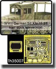 AFV Club  1/35 WWII German Sd.Kfz.11 3T Half Truck Late Version Detail Set AFVTH35007