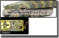 AFV Club  1/35 WWII German Sd.Kfz.251 Ausf D (Touch) MG Shield & Tool AFVTH35010