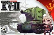 AFV Club   N/A Kv-Ii Soviet Hvy Tank Egg Tank AFVWQT002