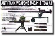 AFV Club  1/35 Anti-Tank Weapons M40A1 & TOW A1 AFV35021