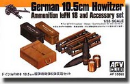 AFV Club  1/35 German 10.5cm Ammunition & Cases AFV35062