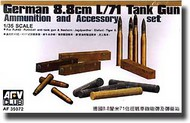 AFV Club  1/35 8.8cm L/71 Ammunition and Accessory AFV35072