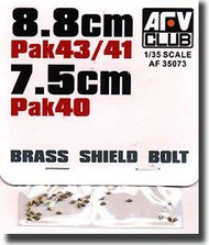 AFV Club  1/35 PAK 43/41 Brass Shield Bolts AFV35073