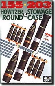AFV Club  1/35 Howitzer Rounds/Storage Case AFV35017