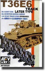 AFV Club  1/35 M5/M8 Light Tank T36E6 Tracks AFV35020