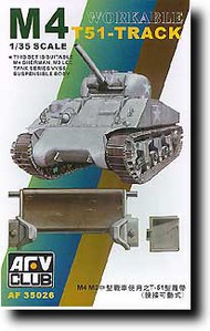 AFV Club  1/35 M4 T51 Workable Track AFV35026