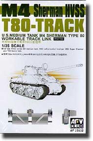 AFV Club  1/35 M4 Sherman T80 Track (Workable) AFV35032