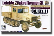 AFV Club  1/35 Sd.Kfz.11 Eihleitsfahrerhaus Late Version AFV35047