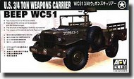U.S. WC-51 3/4 Ton 4x4 Jeep Weapons Carrier #AFV35S15