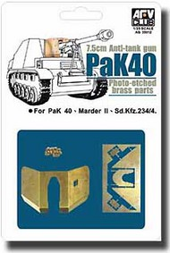 AFV Club  1/35 PaK 40 Etching Parts AFVAG35012