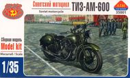 Aim Fan Model  1/35 TIZ-AM-600 Soviet motorcycle AMF35001