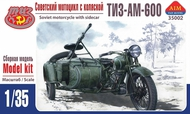 Aim Fan Model  1/35 TIZ-AM-600 Soviet motorcycle with sidecar AMF35002
