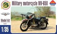 Aim Fan Model  1/35 MV-650 military motorcycle AMF35004