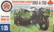 Aim Fan Model  1/35 Russian PMZ-A-750 motorcycle with sidecar AMF35006