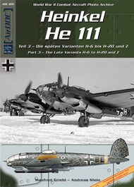 AirDoc   N/A Collection - Heinkel He.111 Part 3: Late variants H-6 to H-20 and Z ADCC010