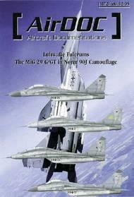 AirDoc  1/32 Luftwaffe Fulcrums - MiG 29G/GT Nor ADCM32005