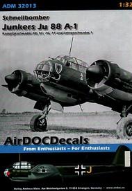 AirDoc  1/32 Junkers Ju 88 A-1; KG 30,51,54,7 ADCM32013