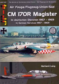 AirDoc  1/72 Air Fouga/Flugzeug-Union-Sud CM 170R Magister In German Services 1957 to 1969 ADJP007