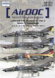AirDoc  1/32 McDonnell F-4F Phantoms Luftwaffe Part 2 Norm 72 Camouflage (18) ADM32011