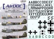Airdoc  1/48 Junkers Ju.88A Part 1. (13) ADM48009