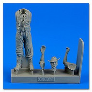 AeroBonus by Aires  1/32 WWII Royal Australian Air Force Fighter Pilot (Standing, long pants) ABN320071