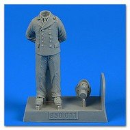 AeroBonus by Aires  1/35 WWII German Submarine Kriegsmarine Ceremony Officer #1 (Standing, Arms Behind) ABN350011