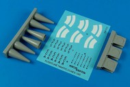AeroBonus by Aires  1/48 Aircraft Warning Cones (6) ABN480054