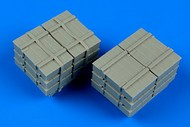 AeroBonus by Aires  1/48 US Army Load; Crates on Skids ABN480114