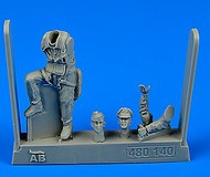 AeroBonus by Aires  1/48 WWII USAF Fighter Pilot 8th Army European Battlefields ABN480140