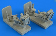 AeroBonus by Aires  1/48 Luftwaffe Me.262B1A/U1 Pilot & Operator w/Ejection Seats ABN480163