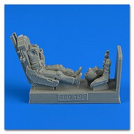AeroBonus by Aires  1/48 USAF F5E Fighter Pilot w/Ejection Seat ABN480198